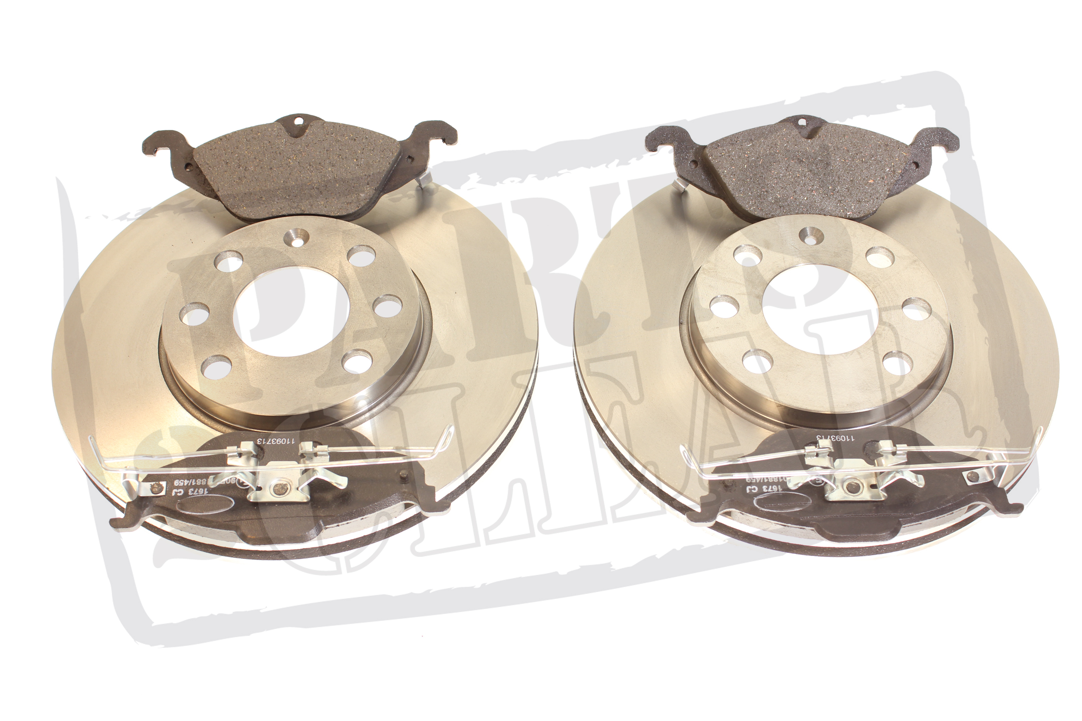 VAUXHALL ASTRA MK4 FRONT BRAKE DISCS + PADS 98-04 4STUD